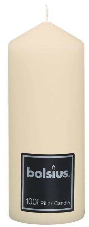 Bolsius Pillar Candle - 198/78 Ivory